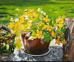 flowers, yellow