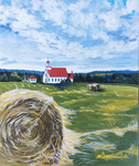 Harvest, hay, hay bales, autumn