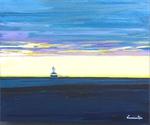 ocean Indian Head lighthouse