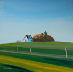 house, bushes, sky, fence, Ottawa
