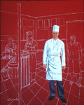 chef, kitchen