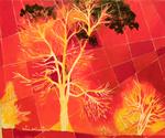 tree, fireworks